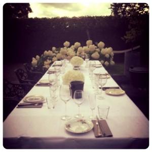 TWS gedekte tafel zomer
